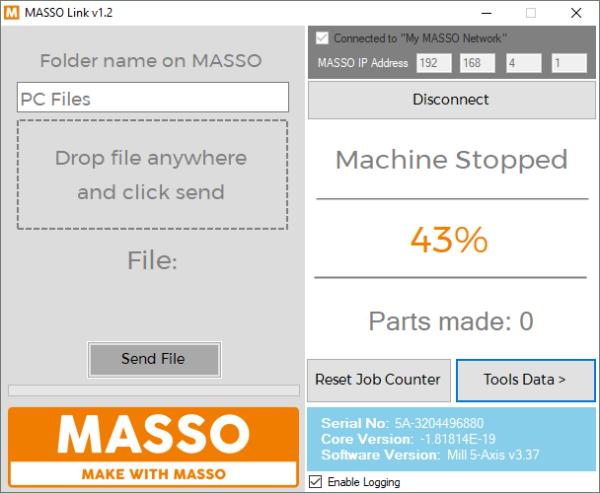 MASSO Link v1.2