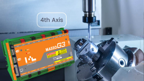 MASSO G3 - 4th axis upgrade